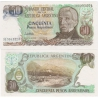 Argentina - bankovka 50 pesos 1983-85 UNC