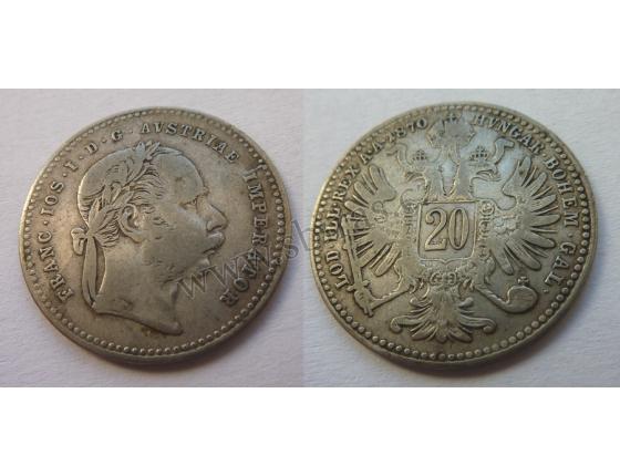 20 Kreuzer 1870