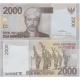 Indonésie - bankovka 2000 rupiah 2009 UNC