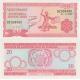 Burundi- bankovka 20 francs 2007 UNC