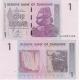 Zimbabwe - bankovka 1 dollar 2007 UNC