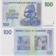Zimbabwe - bankovka 100 dollars 2007 UNC