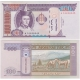 Mongolsko - bankovka 100 Tugrik 2008 aUNC