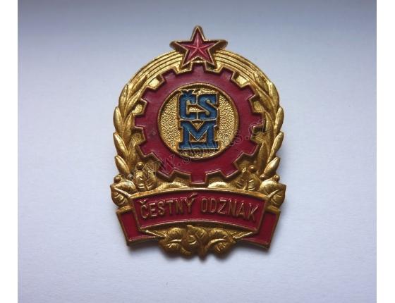 Československý svaz mládeže - čestný odznak