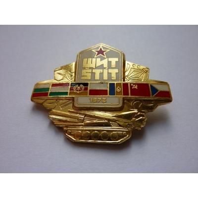 Cvičení vojsk Varšavské smlouvy, Štít 1983 - zlatý odznak ZUKOV