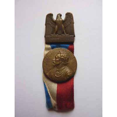 Czechoslovakia - IX.Sokol Gathering in Prague badge 1932