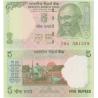 Indie - bankovka 5 rupee 2009 UNC