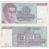 Jugoslávie - bankovka 100 000 000 dinara 1993