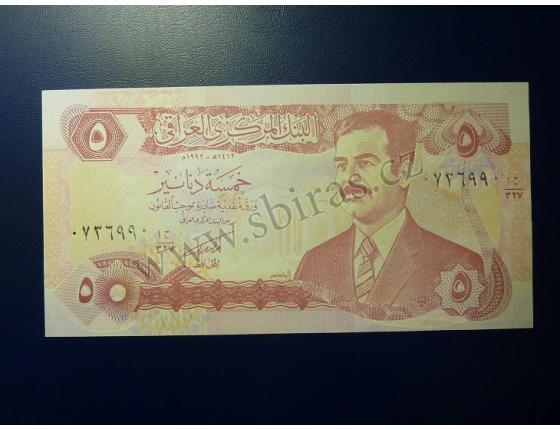 5 dinárů Irák