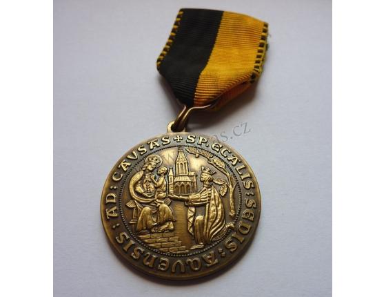 Medaile střeleckého klubu Aachen 1983