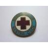 Dobrovolná sestra - historický odznak připínací, smalt