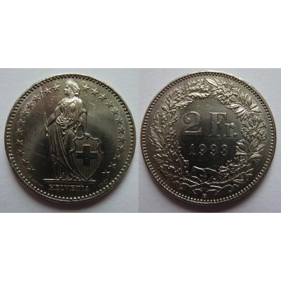 Switzerland - 2 Franc 1993