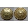 Jugoslávie - 2 dinara 1984