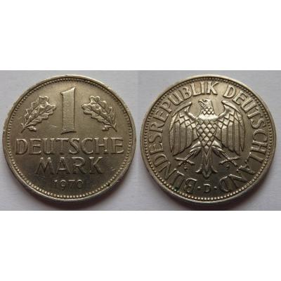 Západní Německo - 1 Mark 1970 D