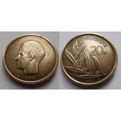 Belgie - 20 frank 1982