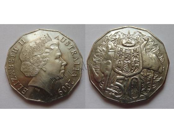 Austrálie - 50 cents 2009