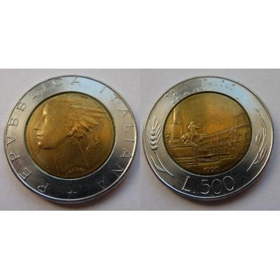 Itálie - 500 lire 1990