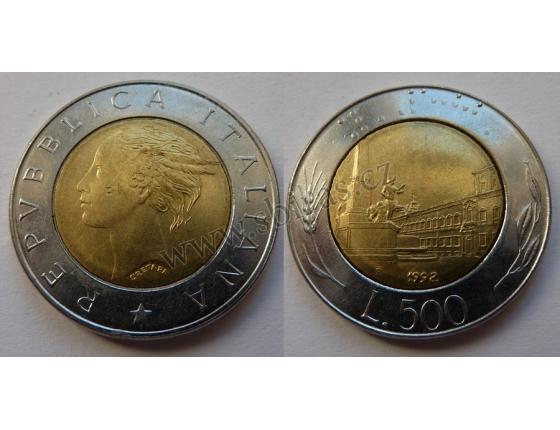 Itálie - 500 lire 1992