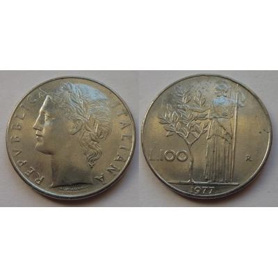 Itálie - 100 lire 1977