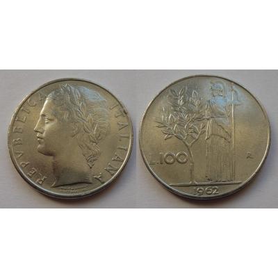 Itálie - 100 lire 1962