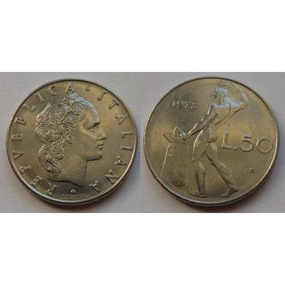 Itálie - 50 lire 1973