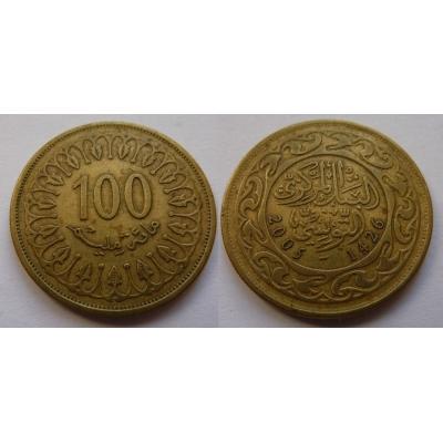 Tunisko - 100 Mallīm 2005