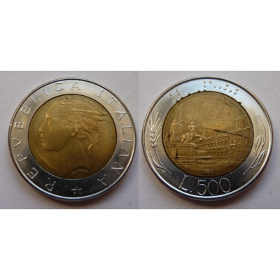 Itálie - 500 lire 1983