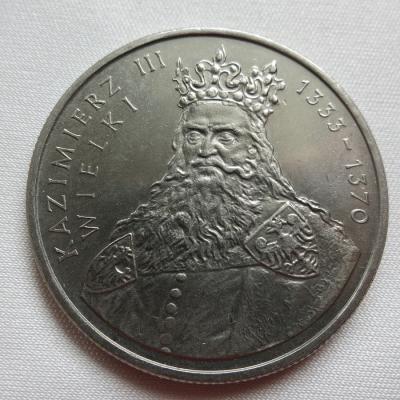 Polsko - 100 zlotych 1987, Kazimierz III. Wielki
