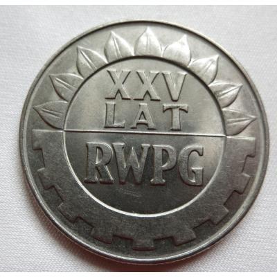 Polsko - 20 zlotych 1974, 25 let RWPG