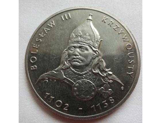 Polsko - 50 zlotych 1982, Král Boleslav III. Křivoústý