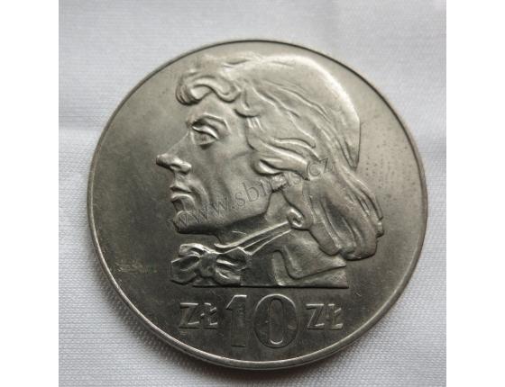 Polsko - 10 zlotych 1972 Kosciuszko