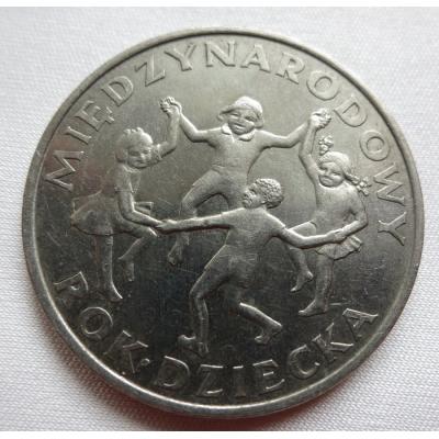 Polsko - 20 zlotych 1979, Mezinárodní rok dětí