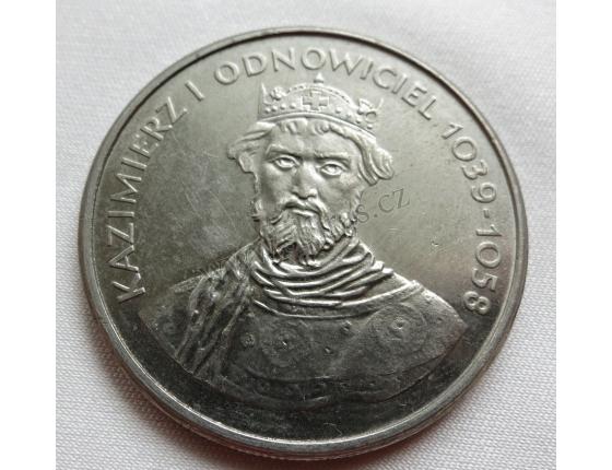 Polsko - 50 zlotych 1980, Král Kazimierz I. Obnovitel