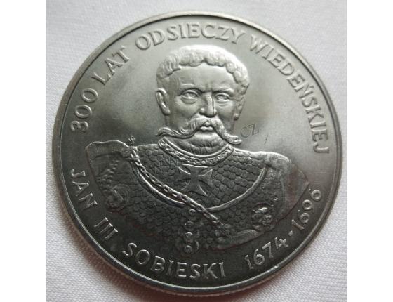Polsko - 50 zlotych 1983, Jan III.Sobieski