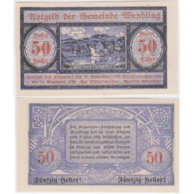 Rakousko - Notgeld 50 Haléřů 1920