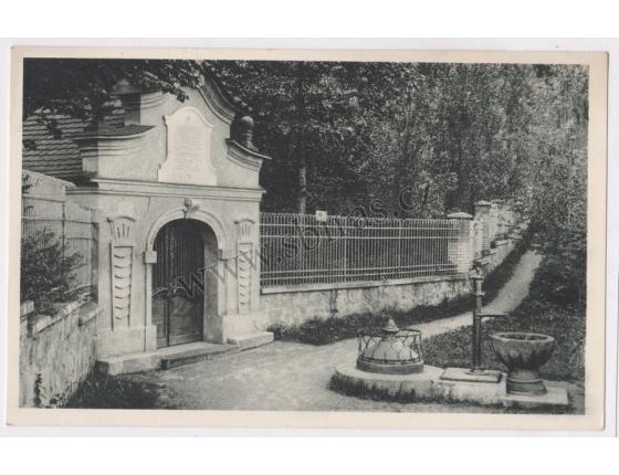 Sázava nad Sázavou - pohlednice malý formát