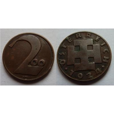 Rakousko - 200 kronen 1924