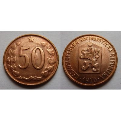 50 haléřů 1970