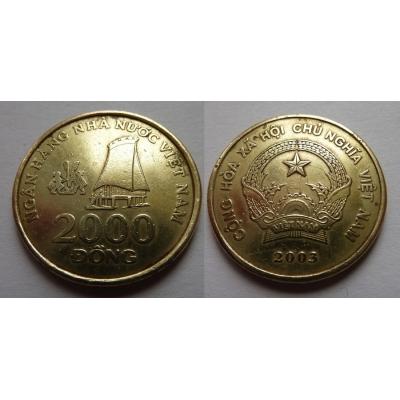 Vietnam - 2000 dong 2003