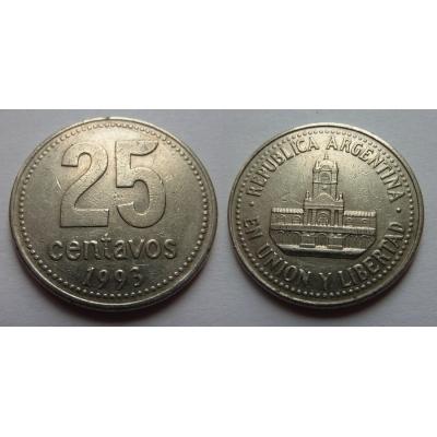 Argentina - 25 centavos 1993