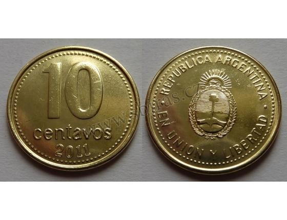Argentina - 10 centavos 2011