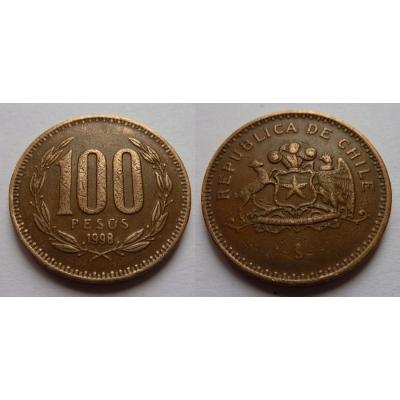 Chile - 100 pesos 1998