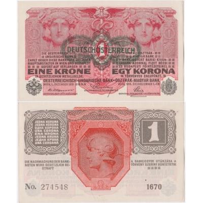 1 Krone 1916