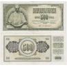 Jugoslávie - bankovka 500 dinara 1978