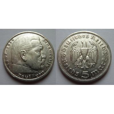Německá říše - 5 marek 1935