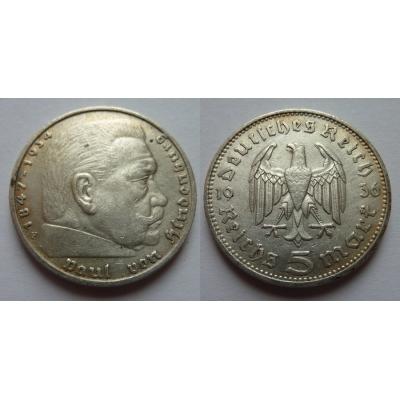Německá říše - 5 marek 1936