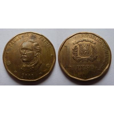 Dominikánská republika - 1 peso 2008
