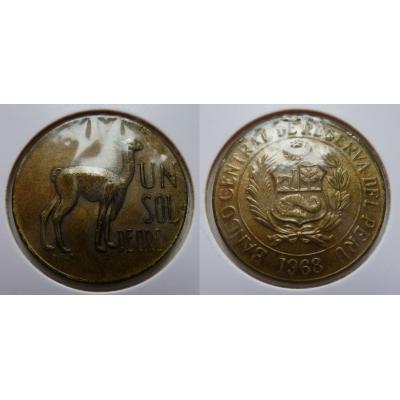 Peru - 1 sol 1968