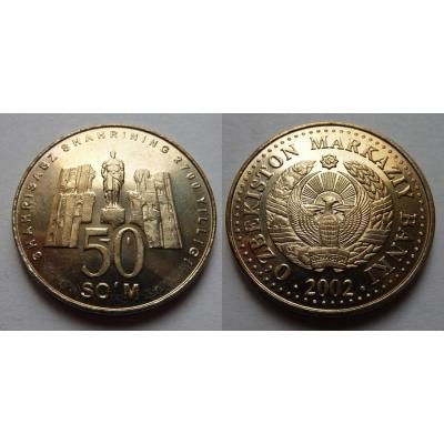 Uzbekistán - 50 som 2002