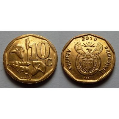 Jihoafrická republika - 10 cents 2010